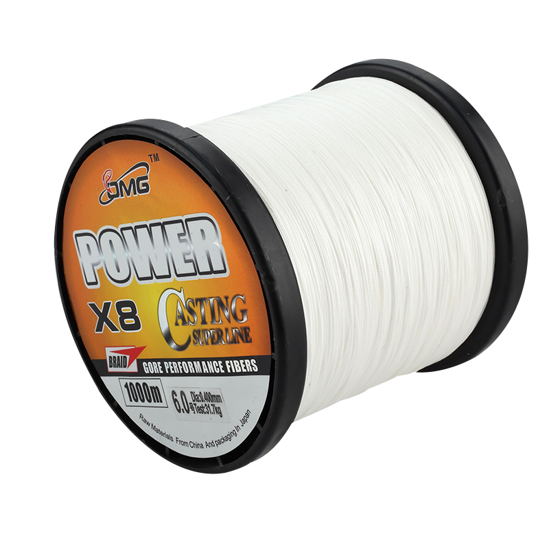 ФОТО 2016 Solid Color 1000M Fishing LINE Polyethylene Material OMG Brand Multifilament Braided Fishing Line 8 Strands Braided Wires