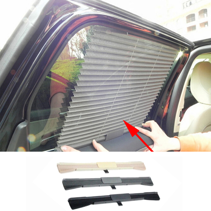 New Universal Car Sunscreen Car Curtain Window Auto