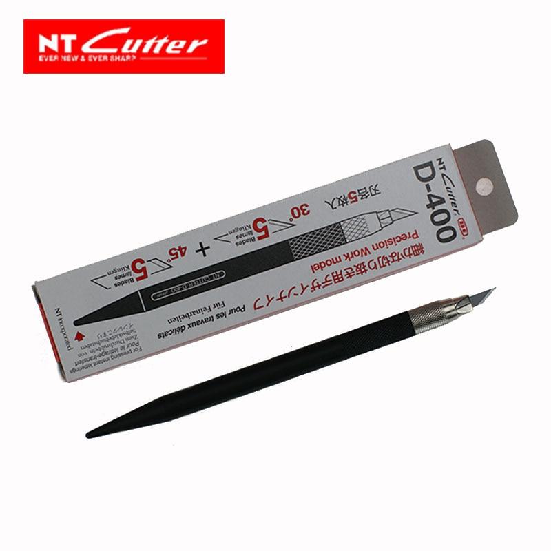 Japan D-400 Art Knife  Pen Knife Craft Knife Hobby Knife Hand-carved Design Knife For Precision Work With 10pcs Blades