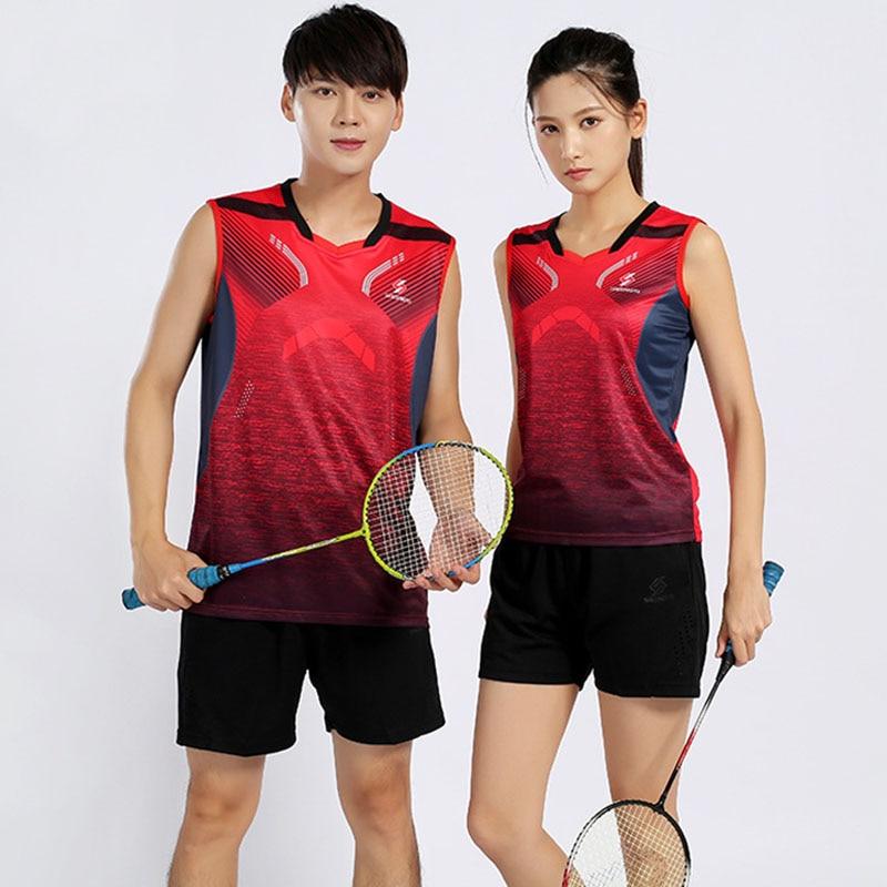 Women Men Sleeveless T Shirts Tennis, Shirt Badminton For Kid, Tracksuit Jersey Badminton Boys , Set Table Tennis , Tenis Hombre