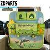 ZDPARTS Cute Cartoon Car Seat Back Organizer Multi Pocket Storage Bags Hanging Pocket Car Organizador Styling