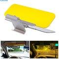 HD Do Carro da Viseira de Sun Goggles Para O Dia de Motorista E de Noite Anti-deslumbrar Espelho Óculos de Sol Viseiras Limpar Vista Deslumbrante Acessórios interiores