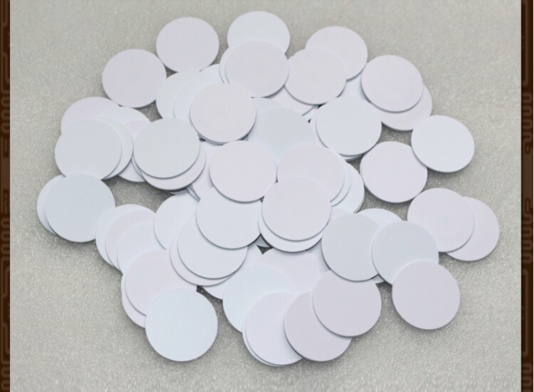 200pcs 25mm NTAG215 coin card NTAG215 game card amiibo NTAG215 coins label-in RFID Tags & Cards from Security & Protection    1