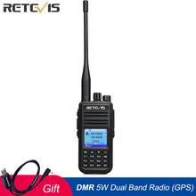 Get more info on the Retevis RT3S Walkie Talkie Dual Band DMR Radio UHF VHF Radio GPS DCDM TDMA Ham Radio Staion Dual Time Slot