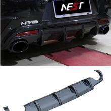 JINGHANG заднего бампера из углеродного волокна, автомобильный диффузор подходит для Vw Volkswagen Scirocco R 2009 2010 2011 2012 2013