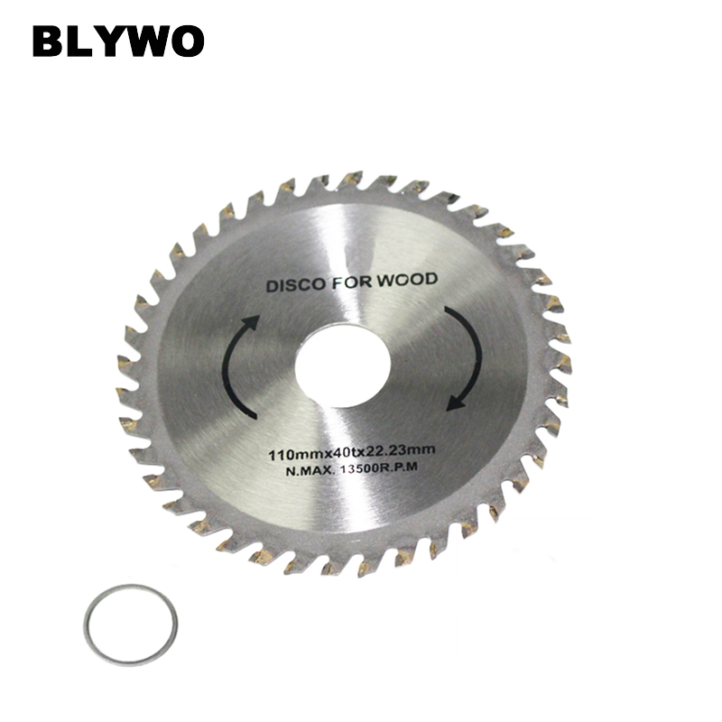 1pc 110/115mm 40 Teeth Circular Saw Blade For Wood Cutting With 22mm Inner Hole