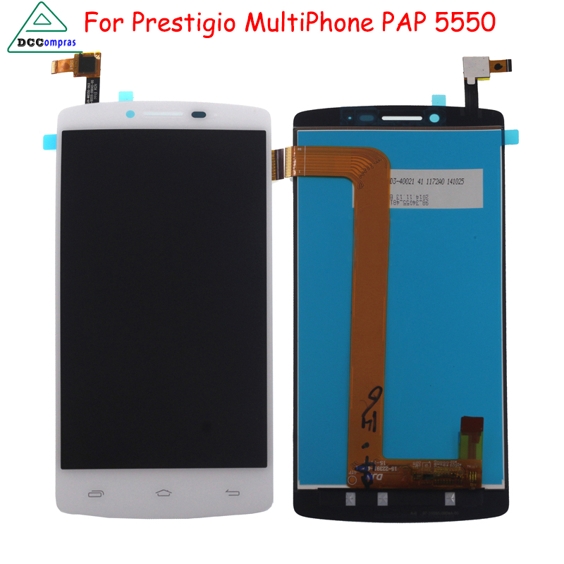 For Prestigio MultiPhone PAP5550 PAP 5550 DUO LCD Screen Display with Touch screen Digitizer Assembly