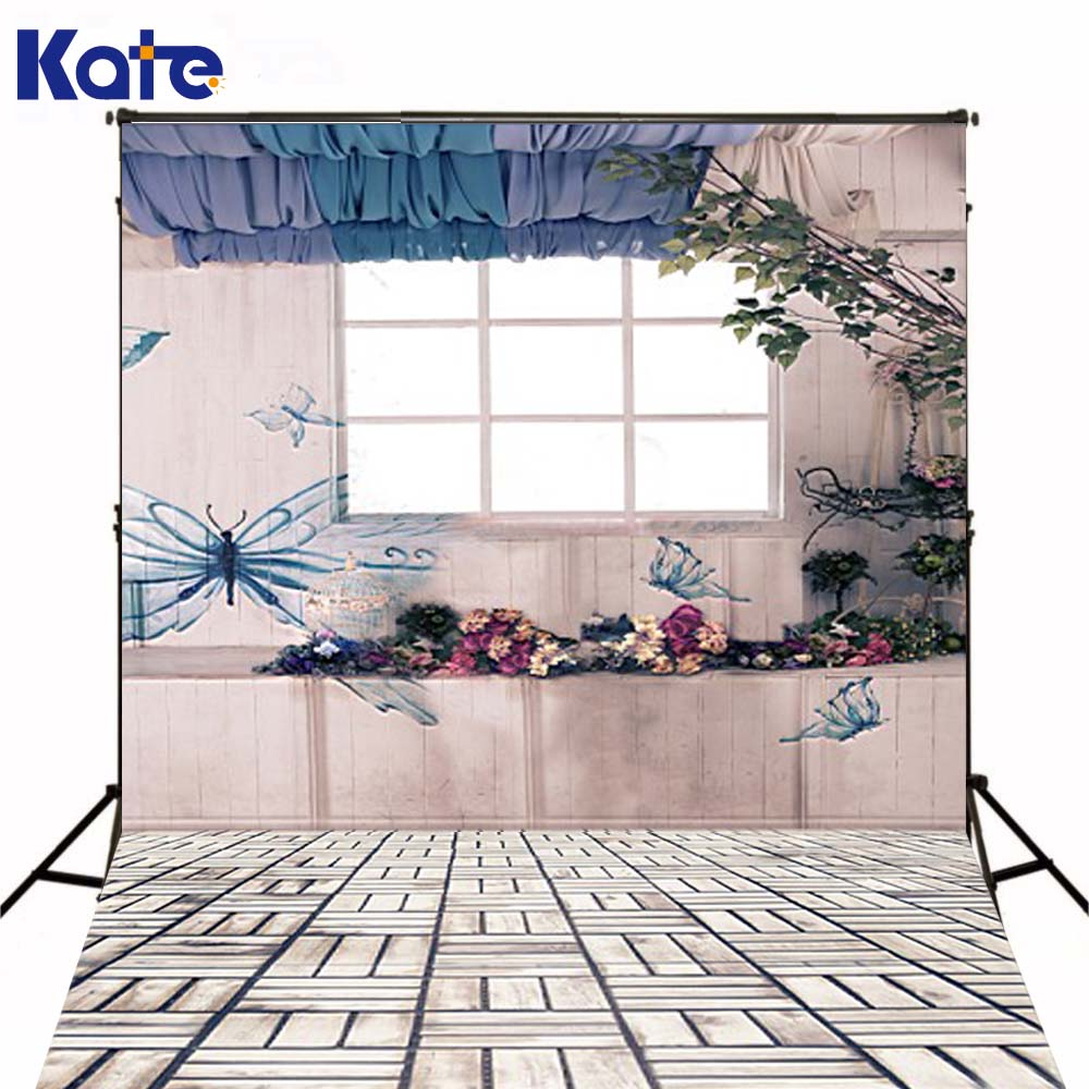 300CM*200CM(about 10ft*6.5ft)t background Insects Butterfly depicts photography backdropsvinyl photography backdrop 3347 LK new color 17 open hole purple flute e key case