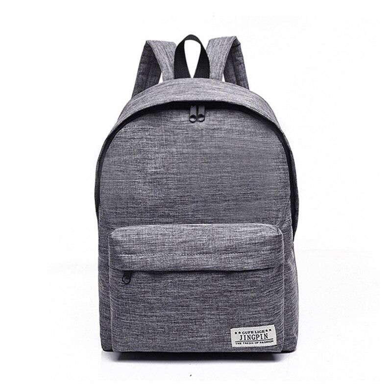 RUIPAI Для мужчин и Для женщин рюкзак посылка двойной Сумка холст пакет подходит для работы, школы путешествий и отдыха время