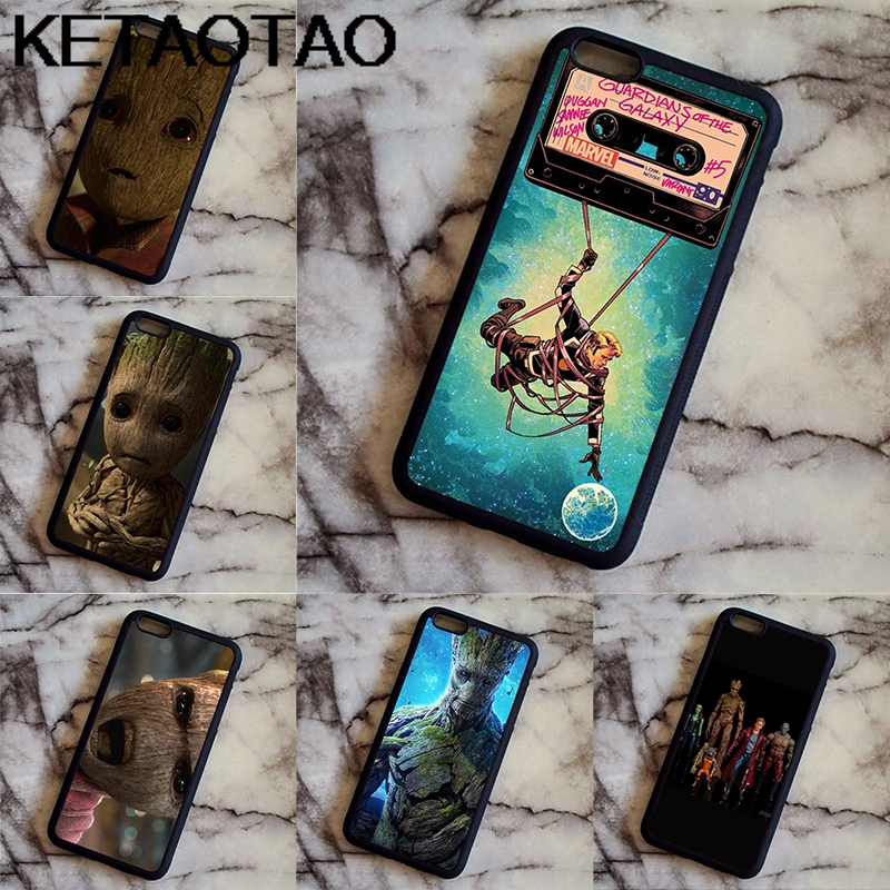 KETAOTAO Little Groot Gad Guardians Phone Cases for Samsung S3 4 5 6 7 8 9 PLUS Note 4 5 7 8 Case Soft TPU Rubber Silicone