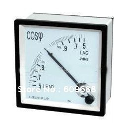 Analogue panel power meter, Analog meter, Panel meter, Analogue frequency ammeters 96*96 cos