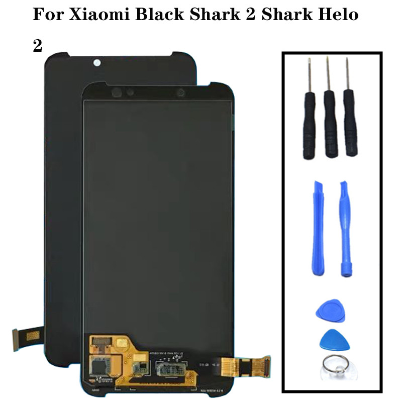Xiaomi Black Shark 2 Lcd Screen Display+Touch Glass Digitizer Assembly Replacement Parts XiaomiS BlackShark2 Helo 2 Lcd AWM-A0Xiaomi Black Shark 2 Lcd Screen Display+Touch Glass Digitizer Assembly Replacement Parts XiaomiS BlackShark2 Helo 2 Lcd AWM-A0