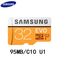 Samsung EVO Micro SD Card 32GB MicroSDHC MicroSDXC C10 Microsd TF Card 64GB 32GB Support Official