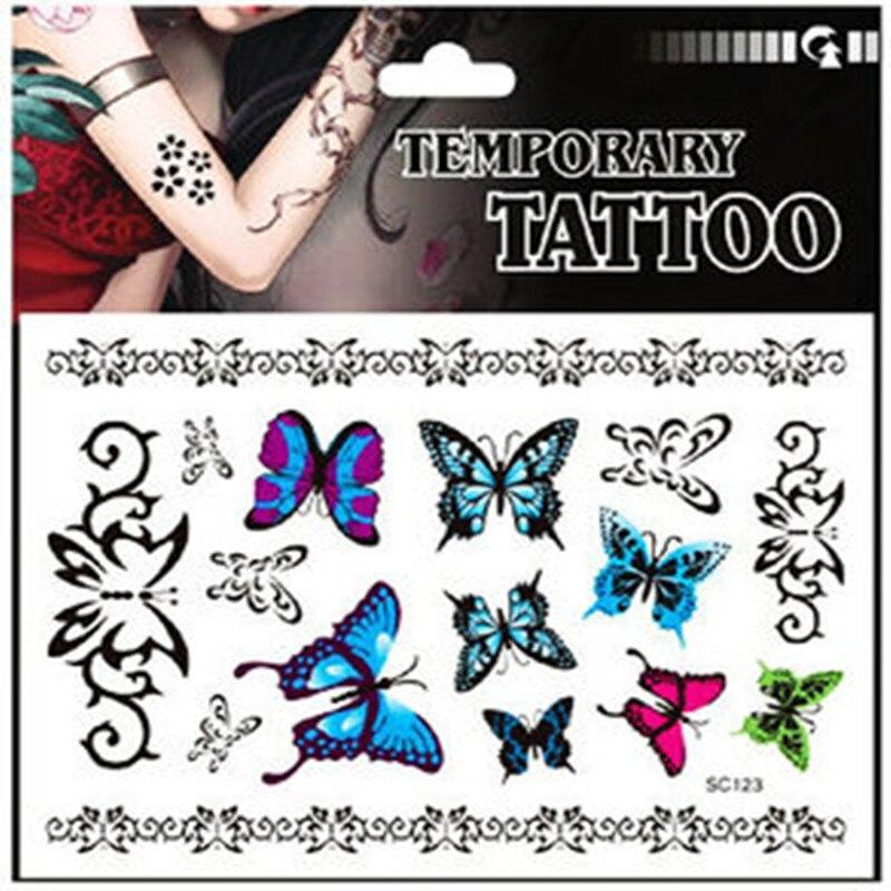 Ξ12 unids diseño creativo al por mayor tatuaje temporal tatuajes ...