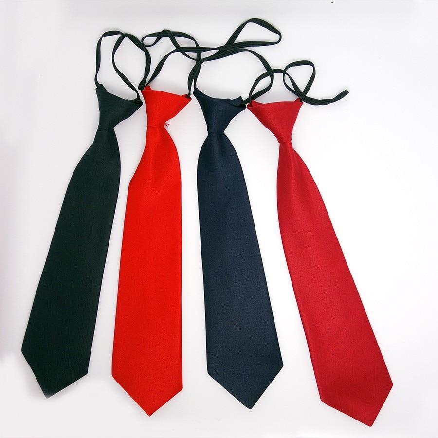 Sylvialuca School Boys Children Kids Baby Wedding Solid Colour Elastic Tie Necktie Boy Tie Baby Wedding Necktie Neck Tie Stain
