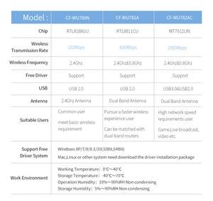 Image 5 - Long Range Dual Band 2.4G 5g Wireless usb wifi adapter 600/1300mbps 802.11ac/b/g/n wifi usb USB3.0 wi fi dongle usb network card