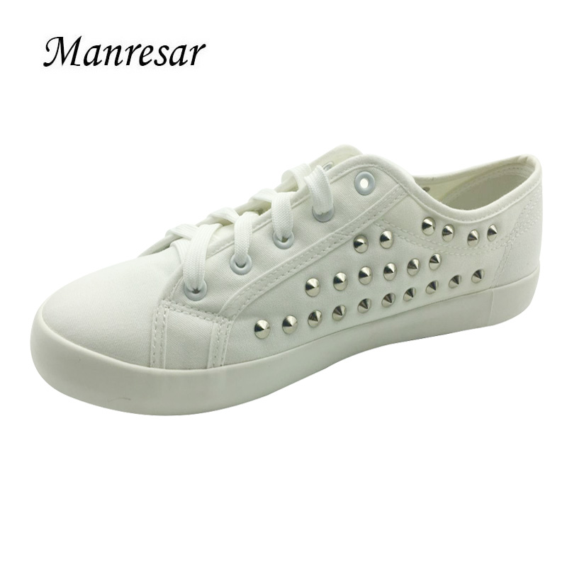Manresar 2017 New Arrival Unisex Fashion Lace-up Women Zapatos Mujer Lovers Classic Canvas Casual Shoes White Plus Size 35-44 4 colours unisex canvas shoes women casual shoes lace up women flats shoes for women espadrilles zapatos mujer chaussure homme