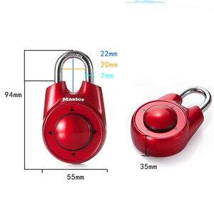 Image 3 - Master Lock Portable Assorted Colors Gym School Health Club Combination Password Directional Padlock Locker Door Lock 5 Color