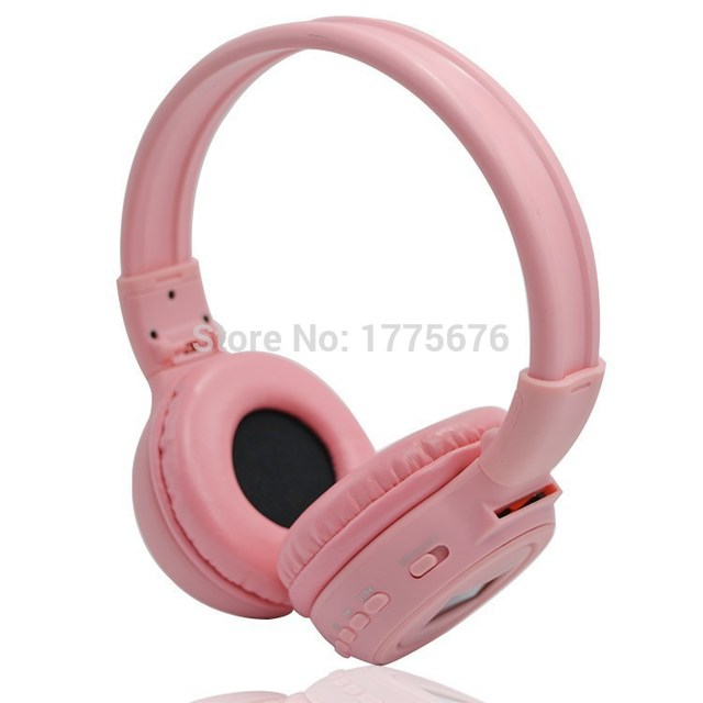 Pink color headset Consumer electronic headphone wireless headphones  cheapest good Price headband Headphone 570717047