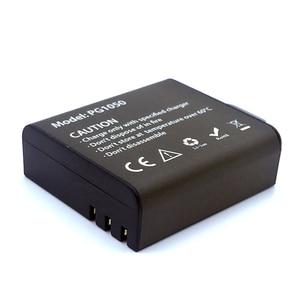 Image 4 - Usbデュアル充電器 + 2 個 1050mahの充電式リチウムイオンカメラのバッテリーeken H9 H9R H3 H3R H8PRO H8R h8 プロスポーツアクションカメラ