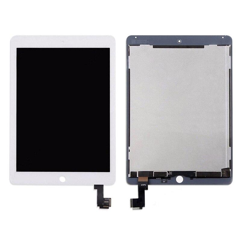 100% testé pour iPad 6 Air 2 A1567 A1566 écran tactile LCD 9.7 ''remplacement de l'assemblage du numériseur pour iPad 6 tablette LCD