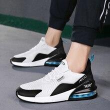 Neue Ankunft Air Mesh Casual Schuhe Für Männer Fly Stricken Atmungs Zapatillas Hombre Casual Vapormax Plus Mode Turnschuhe