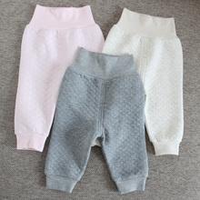 Spodnie dla niemowląt 100 bawełna odzież dla dzieci spodnie odzież dla dzieci nowonarodzone dziecko chłopcy spodnie dziewczęce spodnie wysokie spodnie spodnie dla dzieci tanie tanio Pełnej długości COTTON Czesankowej Unisex Plaid REGULAR Wysoka Elastyczny pas Nowoczesne 100 cotton X18019 Pasuje prawda na wymiar weź swój normalny rozmiar