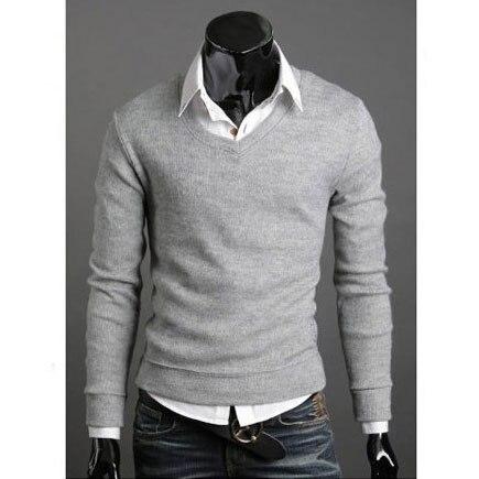 Sweater Cardigan Pullover Men's Dress Shirts Plus Size Man ...