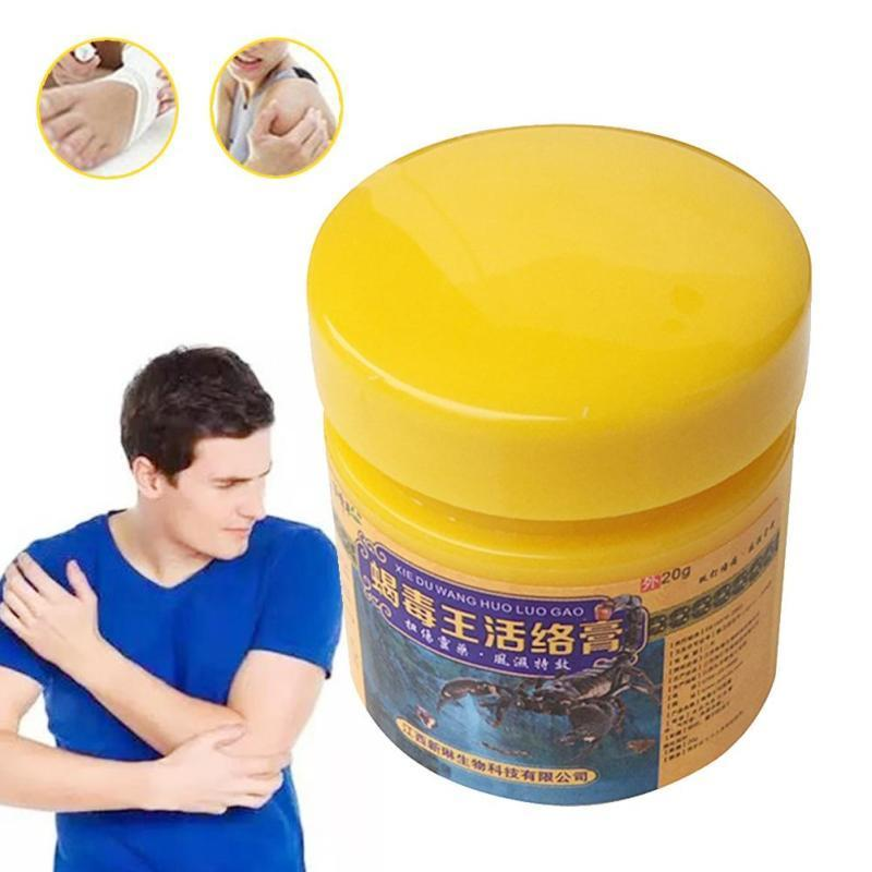 20g Bee Venom Balm Herbal Medicine Muscle Joint Pain Relief Massage Medicine Neck Back Pain Balm Massager Rheumatism U3 4oz joint and muscle pain relief cream reliefx by naturo sciences natural joint pain relief breakthrough that relieves arthritis pain fast topical cream naturally rubs away daily aches associated with neck shoulder and back pain formulated with ar