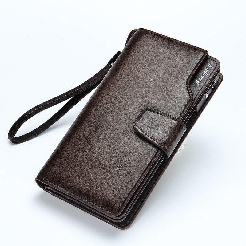 2016 Hot Men Wallet PU  Leather Long clutch wallets for men Cowhide Bifold Coin Purse Slim Fashion Male Wallets japan anime katekyo hitman reborn wallet cosplay men women bifold coin purse