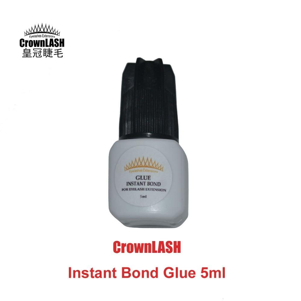 CrownLash Instant Bond Adeziv 5ml adeziv clei de extensie genelor adeziv rapid uscare lipici lipicios puternic
