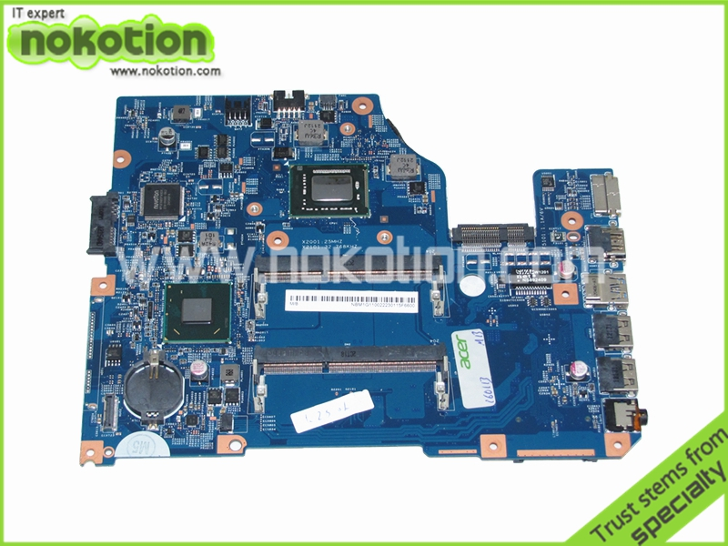NOKOTION NBM1G11002 48.4VM02.011 laptop motherboard for acer asipre V5-571 DDR3 Mainboard Full Tested warranty 60 days top quality for hp laptop mainboard 640334 001 dv4 3000 laptop motherboard 100% tested 60 days warranty