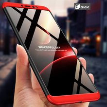 New Design GKK Shockproof 360 Full Coverage 3 in 1 Hard PC Mobile Phone Back Cover Casing Fundas Coque Case For Xiaomi Mi Max 3(China)