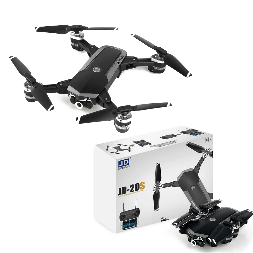 1pcs JD 20S JD20S Foldable WiFi FPV Drone With 2MP HD Camera RC Quadcopter RTF
