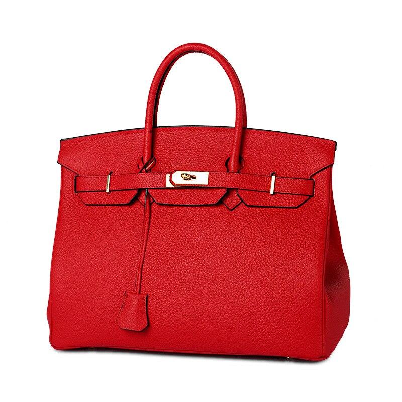 Sacs à main en cuir véritable de luxe pour dames sac à bandoulière femmes sacs designer serrure de mode grands totes souples Bolsas Feminina