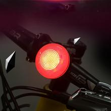 Bike Flashlight USB Rechargeable Rear Tail Light LED Bicycle Warning Safety Smart Lamp New Turn Signals For a