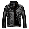 PU Leather Jacket Men Winter Jackets and Coats Thickening Windbreak Waterproof Warm Fur Trench Coat Plus Size