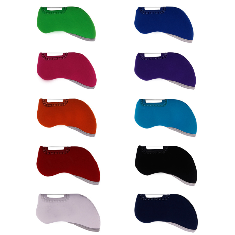 New Mens Golf headcover high quality PU Golf irons headcover  10 colors irons clubs headcover Free shipping