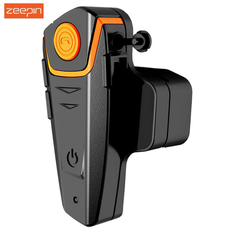 BT-S2 1000M Motorcycle Bluetooth Headset Intercom Interphone Motorbike HeadPhone Speaker Support FM Radio For Cell Phone