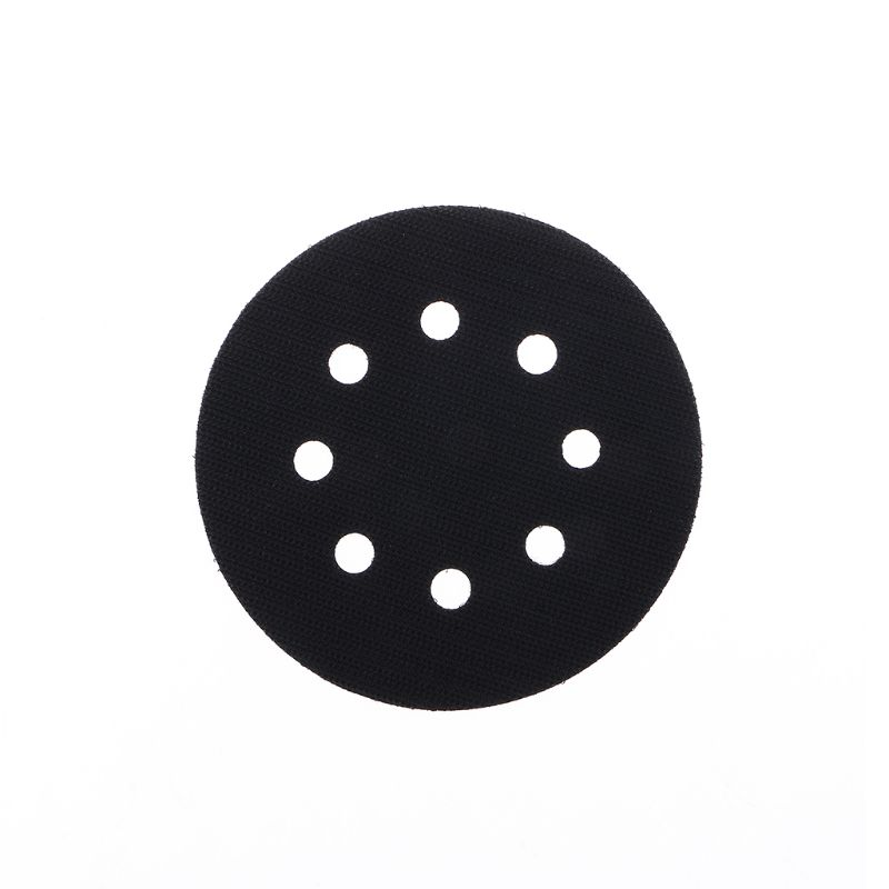 1PCS 5 Inch(125mm) 8-Hole Ultra-thin Surface Protection Interface Pad For Sanding Pads And Hook&Loop Sanding Discs Thin Sponge