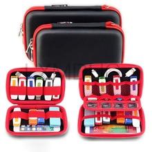 Купить с кэшбэком Accessory Portable Organizer Case USB Data Cable Earphone Wire Pen Power Bank Storage Bag Digital Gadget Devices Travel Bags