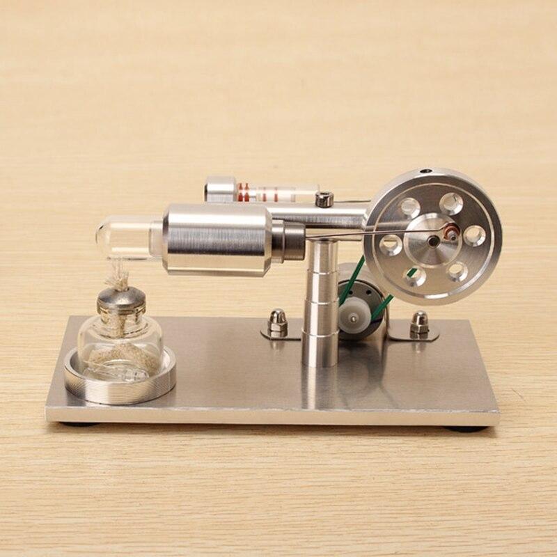 Caliente nueva actualización aire Stirling Motores modelo generador aleación de aluminio modelo Ciencia Educativa regalo para niños