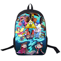 Anime Gravity Falls Backpack Dipper Mabel School Backpack Boys Girls School Bags Children Bookbag Kids Daily Backpack For Teens
