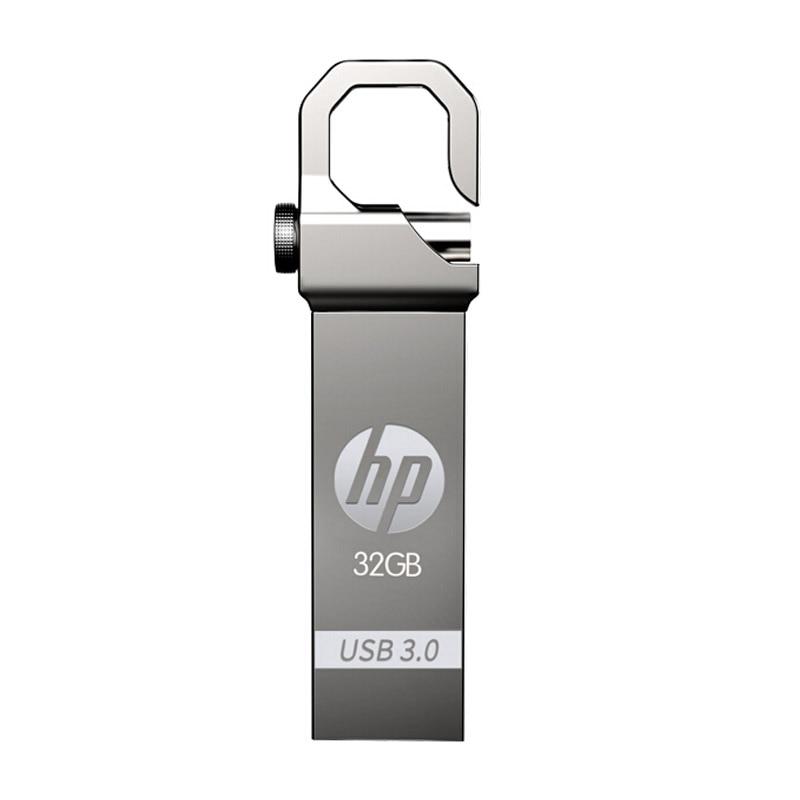 HP USB Flash Drive 64 GB Metal Pendrive 32 GB Plus OTG DJ DIY LOGO - Արտաքին պահեստավորման սարքեր - Լուսանկար 3