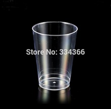 60pcs/lot Party Festival Plastic Wine 350ml Cup Disposable Plastic Drinkware 12oz Clearware Wine Glass FREE SHIPPING