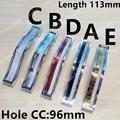 Buraco C. C.: 96mm pérola-brilho de Cristal Alças Armário de Cozinha Botões de Liga de Zinco Gaveta Puxa Maçaneta Da Porta cômoda Armário