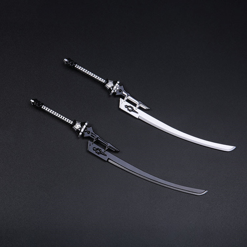 "1//6 Scale Weapon model metal Sword Broadsword For 12/"" Female /& Male Figure"