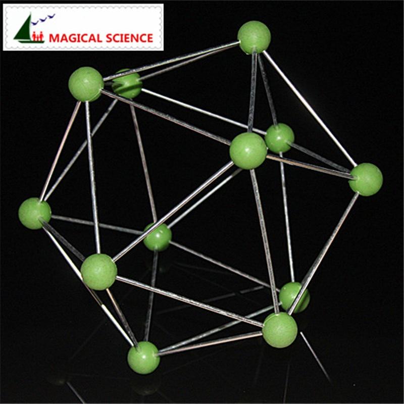 boron Molecular Structure Model B12 crystal model Suitable for junior high school Chemistry teaching supplies  molecular dentistry