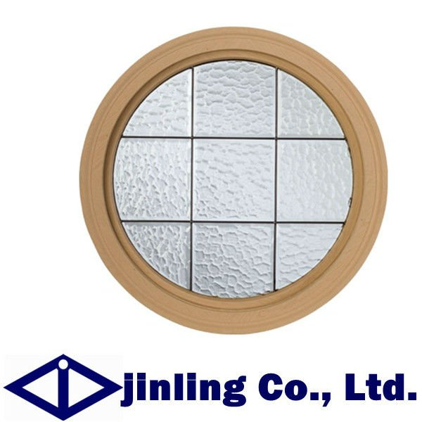 Round window with grill design in windows from home for Window design round
