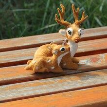 China Christmas Deer Factory Wholesale Lifelike Mini Christmas Deer For Sale